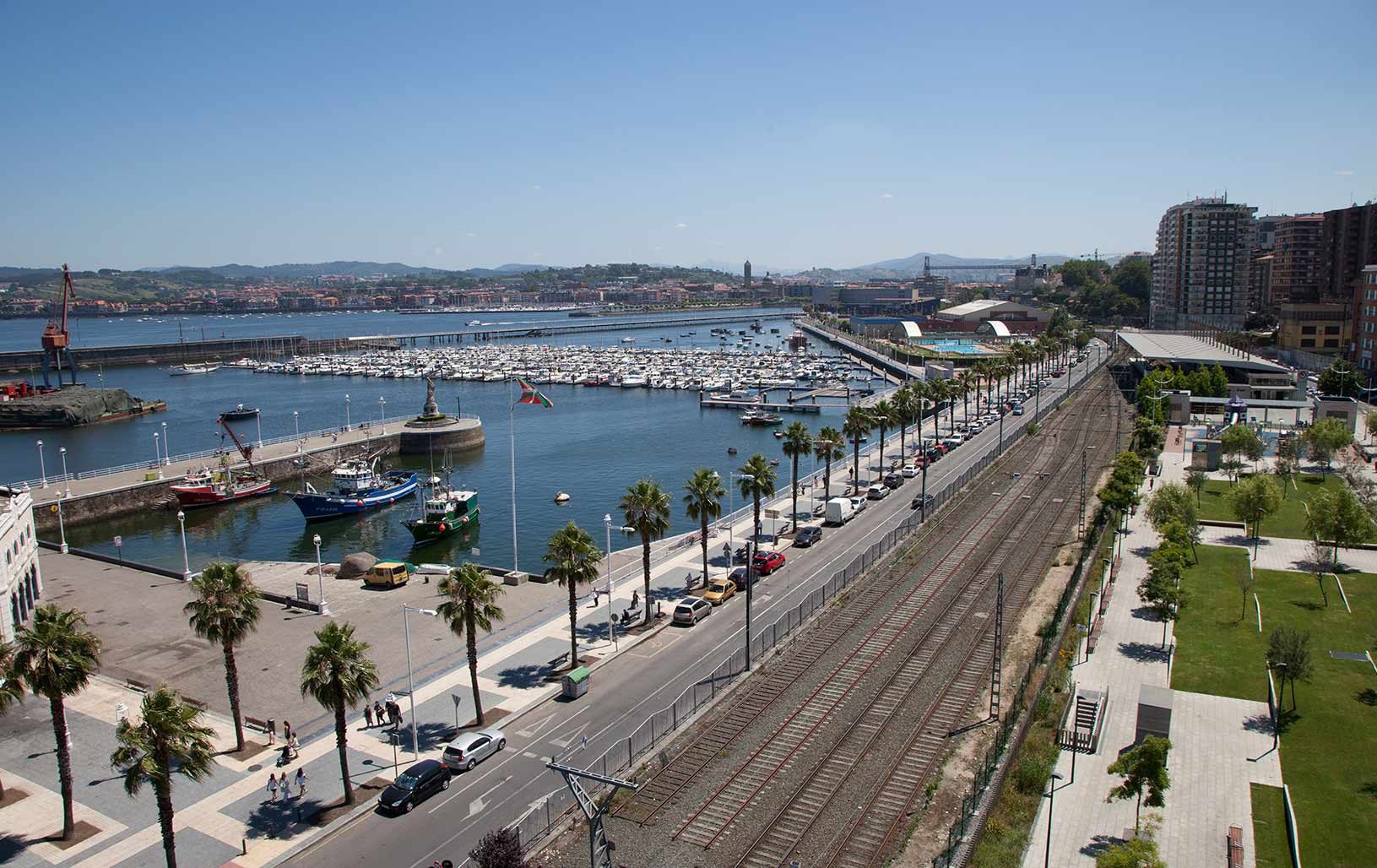 Localizaci n pensi n barlovento - Piscinas municipales portugalete ...